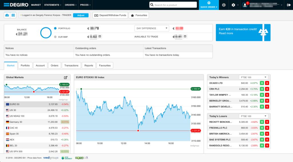degiro forex trading